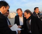 A.N.A.S. in visita al campo profughi in Macedonia