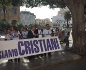 corteo noi siamo cristiani
