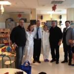 Anas Venezia porta un sorriso al reparto pediatria.