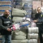 POGGIO MIRTETO (RI): Sequestrati 9 milioni di capi di abbigliamento