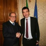 Il MInistro delle Politiche Agricole, Maurizio Martina incontra il Sindaco di Nicosia