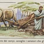 L. Quinzio Cincinnato, dopo aver reso grandi servigi a una causa, alla patria, si ritira in modestia e semplicità  a vita privata