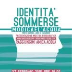 """MODICA (RG): Palazzo Grimaldi UOC Psichiatria  Distretto Modica–Scicli """" IDENTITÀ SOMMERSE """""""