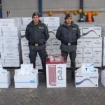 GUARDIA DI FINANZA REGGIO CALABRIA: Dettagli sequestro 52 tonnellate di sigarette al porto di Gioia Tauro
