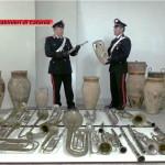 """SANT'ALFIO (CT): Recuperati dai Carabinieri pezzi  trafugati dal """"Museo Civico Genti dell'Etna"""" di Giarre."""