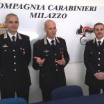 CARABINIERI ROCCAVALDINA (ME):arrestati un 34enne e un 27enne di Catania per furto aggravato