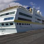 CATANIA: Crociere arrivata la Hamburg, aperta la stagione