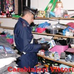 SCOGLITTI (RG): Carabinieri denunciano una cinese e sequestrano merce per oltre 5.000 euro