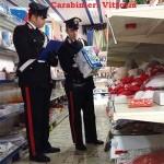 SCOGLITTI (RG):Carabinieri denunciano un Cinese e sequestrano merce per oltre 12.000 euro