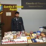 VITTORIA (RG): Le Fiamme Gialle sequestrano oltre 11 kg di tabacchi lavorati nazionali.