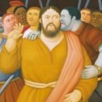 PALERMO: Allestimento mostra Botero nel Palazzo di Normanni Sala Duca di Montalto