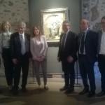 CATANIA: Il ministro Maria Elena Boschi in visita al Castello Ursino ammira la mostra di Picasso