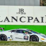 Show per CST Sport con Moscato nel Lamborghini Blancpain Super Trofeo