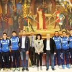 MODICA (RG):Finale regionale volley maschile under 19. La U.S. Volley Modica ricevuta dal Sindaco