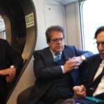 Viaggio inaugurale del nuovo collegamento ferroviario Palermo-Catania