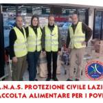 A.N.A.S Protezione Civile Lazio donata, previa raccolta, beni alla chiesa dei poveri di via Boccea