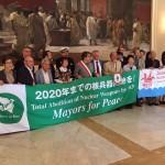 CATANIA: Nave della Pace Bianco riceve sopravvissuti Hiroshima e Nagasaki