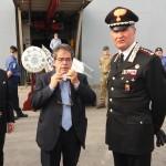 Bianco accoglie nel porto di Catania la nave inglese Bulwark con 600 immigrati a bordo