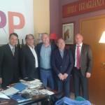 Intervista all'onorevole Aldo Carcaci, membro del Partito Popolare belga, in occasione dell'incontro con la dirigenza A.N.A.S. a Bruxelles