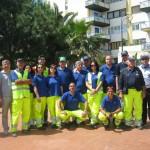 """Forniture capi di vestiario per il gruppo dei volontari di Protezione Civile """"Eleuterio"""""""