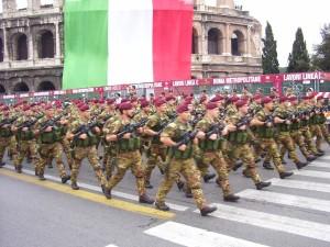 parata militare marcia