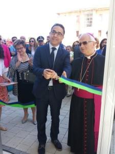 Il presidente Cosentino con Mons. Milito