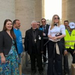 A.N.A.S. delegazione Russa in occasione dell'Udienza del 20 maggio a Roma
