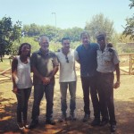 L'amministrazione comunale di Ficarazzi incontra il senatore Francesco Campanella ai giardini di Villa Merlo