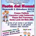 A.N.A.S. Santa Lucia del Mela in collaborazione con le sedi zonali di San Filippo del Mela e Milazzo organizza la Festa dei Nonni