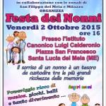 Santa Lucia del Mela (ME): La FESTA DEI NONNI