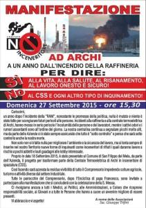 Manifestazione 27-09-15