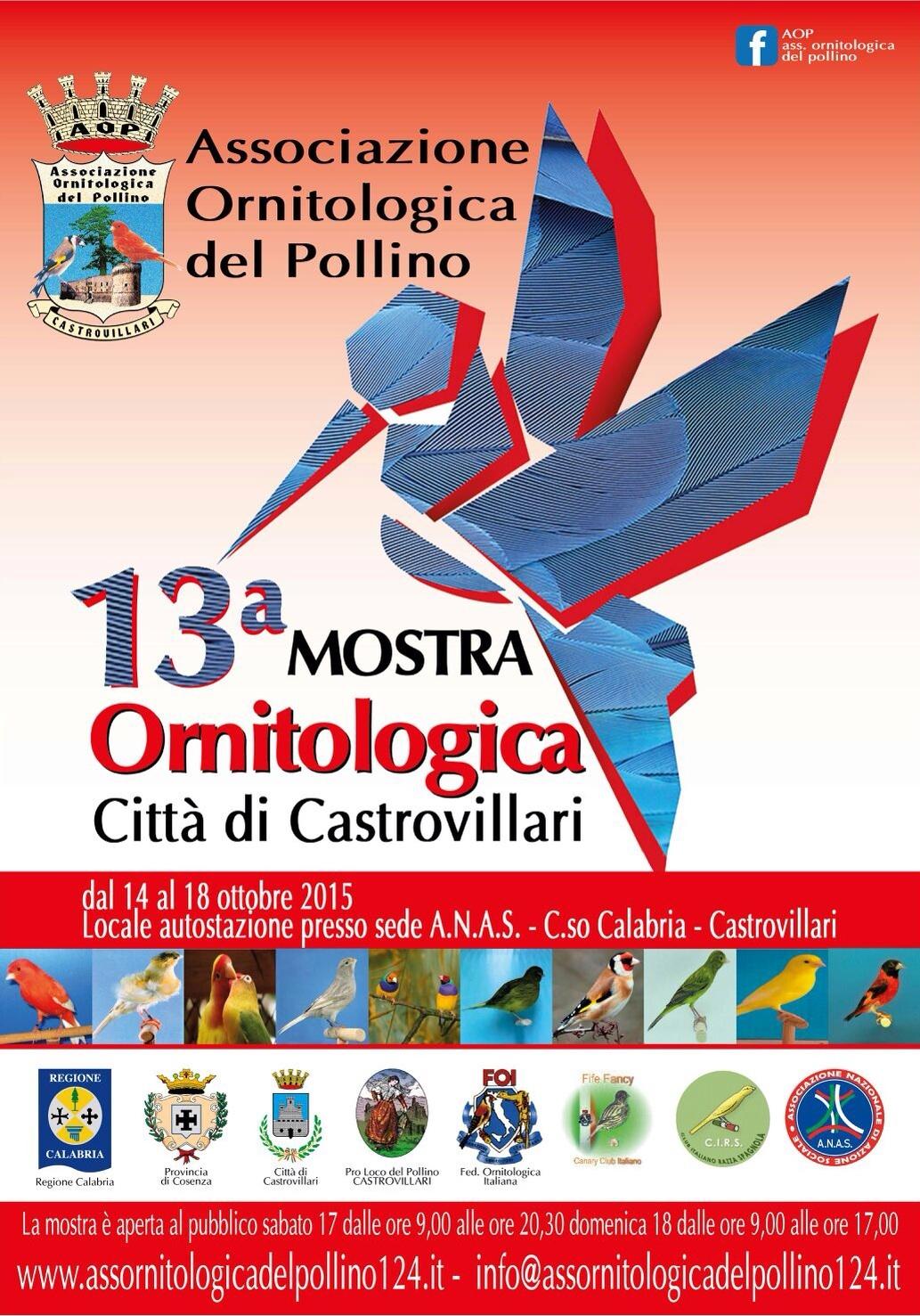 Calendario Mostre Ornitologiche 2019 Sicilia.A N A S Castrovillari Presenta La Tredicesima Mostra