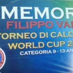 "A.N.A.S. zonale Collesano presenta il III ""World Cup"" Memorial ""Filippo Vara""  Torneo di Calcetto Under 8 – 13"