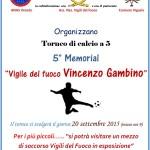 """A.N.A.S. Veneto organizza il 5° Memorial """"Vigile del fuoco Vincenzo Gambino"""""""