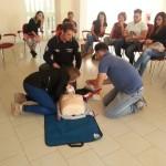 È stato realizzato nella giornata di sabato 3 ottobre il primo corso BLS FULL  D di primo soccorso organizzato da Anas Italia e Angeli per la vita ad Ardore Marina