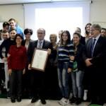 """Conferite  due """"Segnalazioni di eccellenza"""" nell'ambito della XIV edizione del Premio Filippo Basile 2015 per la formazione nella P.A"""