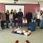 Organizzato da A.N.A.S. zonale Reggio Calabria ad Ardore il primo Corso BLS FULL D