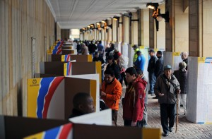COLOMBIA-ELECTION-RUN-OFF-VOTERS