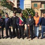 A.N.A.S. Calabria partecipa all'annuale commemorazione delle Forze Armate ad Ardore