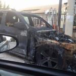 Intimidazione ad Altavilla, bruciata l'auto dell'imprenditore Calì