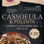 "A.N.A.S. sezione Carugate presenta l'evento ""Cassoeula & Polenta"""