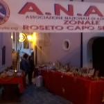 A.N.A.S. Roseto Capo Spulico partecipa ai mercatini di Natale