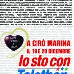A.N.A.S. zonale Cirò e A.N.A.S. zonale Cirò Marina la manifestazione TELETHON 2015