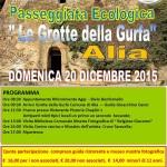 A.N.A.S. Collesano presenta  la passeggiata ecologica alle Grotte della Gurfa di Alia