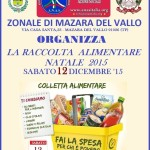 A.N.A.S. Mazara del Vallo cerca volontari in occasione della raccolta alimentare di sabato 12 dicembre