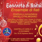 """A.N.A.S. zonale Monopoli presenta il """"Concerto di Natale"""""""