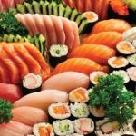 Sushi: elemento del mangiar sano