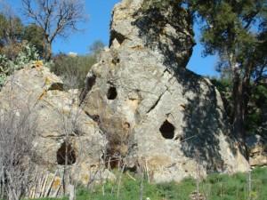 Gangi Tombe c.da Regiovanni Età del bronzo