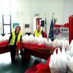 A.N.A.S. in data 17 dicembre ha effettuato al raccolta di derrata alimentare da distribuire