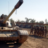 Iraqi_T-55_tank_at_Camp_Taji